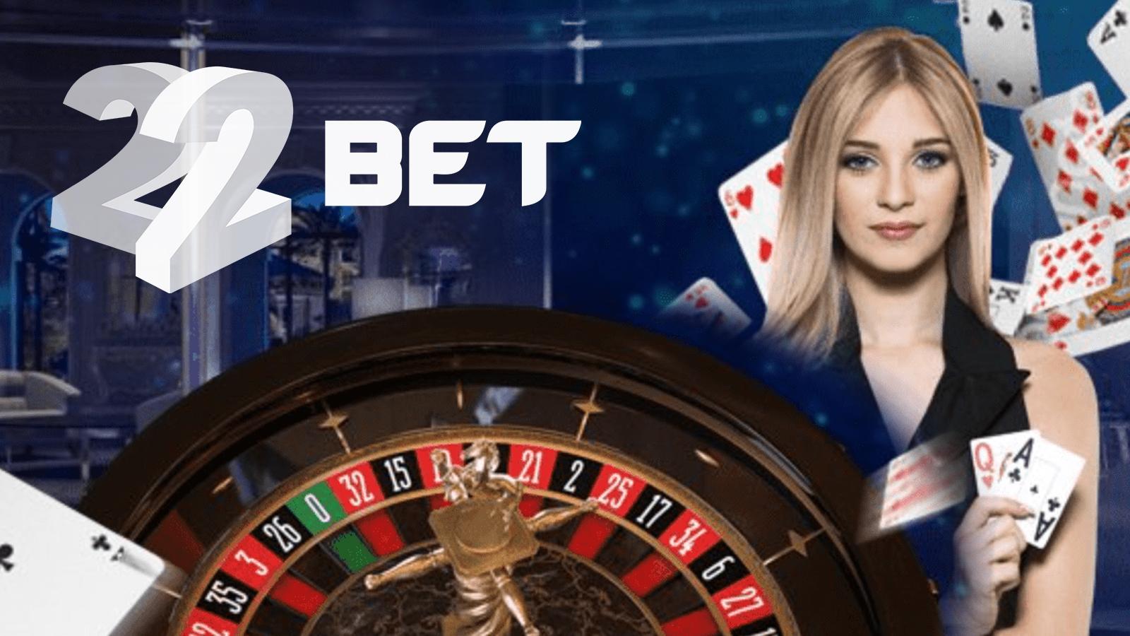 22Bet online casino India: review, app, bonus, games, deposit and  withdrawal methods